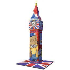 RAVENSBURGER 3D puzzle  216 dílků - Big Ben 3D (Mimoni)