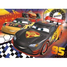 RAVENSBURGER Dětské puzzle  200 dílků - Auta: Na závodní dráze XXL