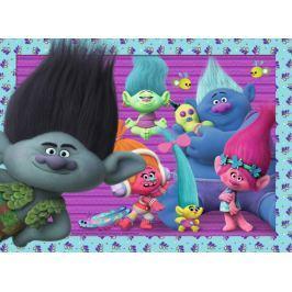 RAVENSBURGER Dětské puzzle  12839 Trollové: Přátelé dílků XXL