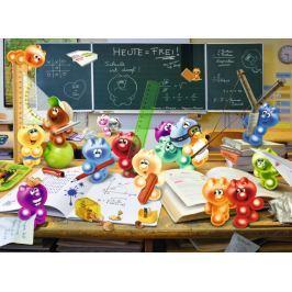 RAVENSBURGER Puzzle Gelini: Zábava ve třídě XXL 300 dílků