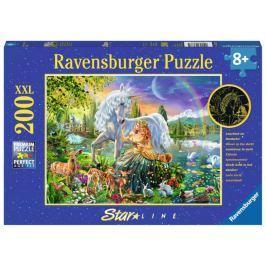 RAVENSBURGER Svítící puzzle Magická krása XXL 200 dílků