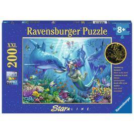 RAVENSBURGER Svítící puzzle Podvodní ráj XXL 200 dílků
