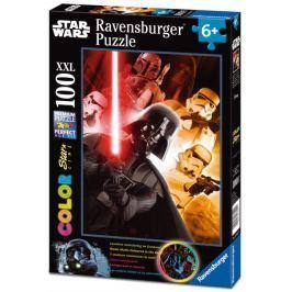 RAVENSBURGER Svítící puzzle Star Wars: Darth Vader XXL 100 dílků
