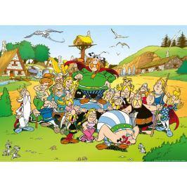 RAVENSBURGER Puzzle  500 dílků - Asterix a Obelix: Vesnička