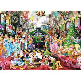 RAVENSBURGER Puzzle Disney: Vánoční vlak 500 dílků