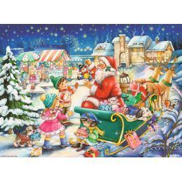 RAVENSBURGER Puzzle Vánoční kouzlo 500 dílků