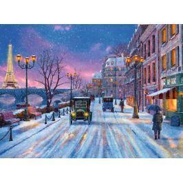 RAVENSBURGER Puzzle Zima v Paříži 500 dílků