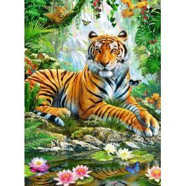 RAVENSBURGER Puzzle Tygr v džungli 500 dílků