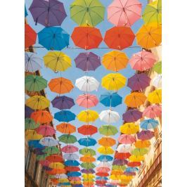 RAVENSBURGER Puzzle Barevné deštníky 500 dílků