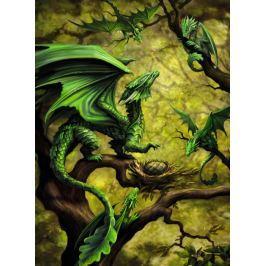 RAVENSBURGER Puzzle Lesní drak 500 dílků