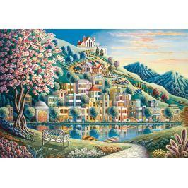 RAVENSBURGER Puzzle Kvetoucí park 500 dílků