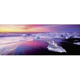RAVENSBURGER Panoramatické puzzle Jezero Jökulsárlón, Island 1000 dílků