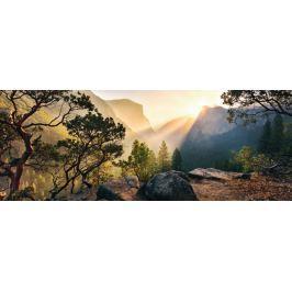 RAVENSBURGER Panoramatické puzzle Yosemitský národní park, Kalifornie 1000 dílků