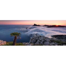 RAVENSBURGER Panoramatické puzzle V oceánu mraků 1000 dílků