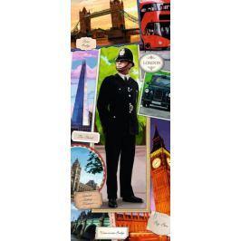 RAVENSBURGER Vertikální puzzle Londýnský strážník 170 dílků