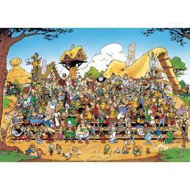 RAVENSBURGER Puzzle  1000 dílků - Asterix a Obelix: Rodinná fotka