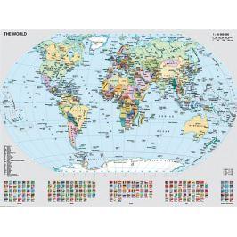 RAVENSBURGER Puzzle  1000 dílků - Politická mapa světa