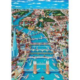 RAVENSBURGER Puzzle Pohled na západní Londýn 1000 dílků