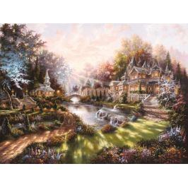 RAVENSBURGER Puzzle  1000 dílků - Úsvit (Ráno)
