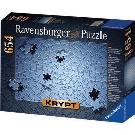 RAVENSBURGER Puzzle  654 dílků - KRYPT (barva stříbrná)