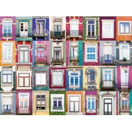 RAVENSBURGER Puzzle Portugalská okna 1500 dílků