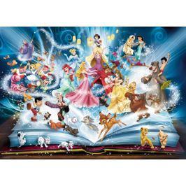 RAVENSBURGER Puzzle Disneyho magická kniha pohádek 1500 dílků