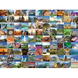 RAVENSBURGER Puzzle 99 krásných míst planety 1500 dílků