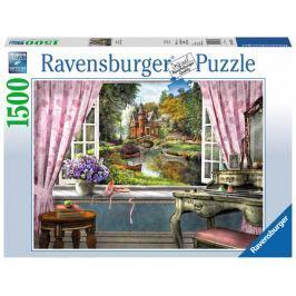 RAVENSBURGER Puzzle Výhled z ložnice 1500 dílků