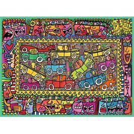 RAVENSBURGER Puzzle Jsme na cestě k Vám 1500 dílků