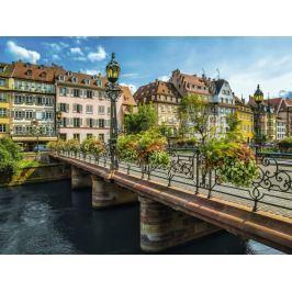 RAVENSBURGER Puzzle Slunečný Štrasburk, Francie 1500 dílků