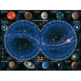 RAVENSBURGER Puzzle  1500 dílků - Hvězdná mapa oblohy