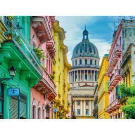 RAVENSBURGER Puzzle Barevná Kuba 2000 dílků