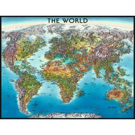 RAVENSBURGER Puzzle  2000 dílků - Mapa světa