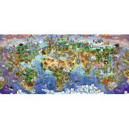 RAVENSBURGER 16698 - Divy světa, puzzle 2000 dílků