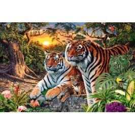 RAVENSBURGER Puzzle  17072 Tygří rodina 3000 dílků