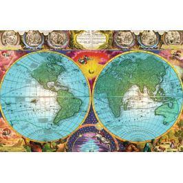 RAVENSBURGER Puzzle  17074 Historická mapa 3000 dílků