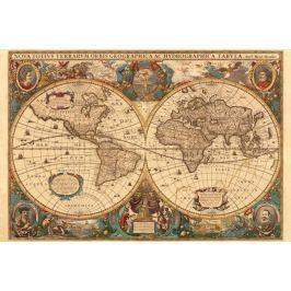 RAVENSBURGER Puzzle  5000 dílků - Historická mapa r.1630
