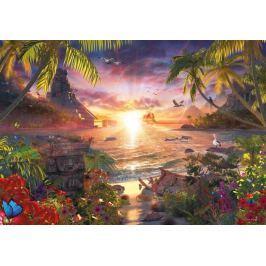 RAVENSBURGER Puzzle  18000 dílků - D.Penfound, Západ slunce v ráji