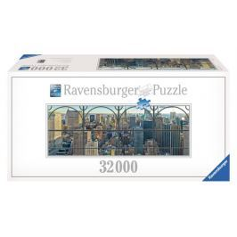 RAVENSBURGER Puzzle  32000 dílků - Pohled na New York (3.největší puzzle)