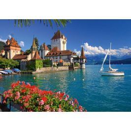 RAVENSBURGER Puzzle  1000 dílků - Jezero Thun, Bern