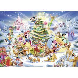 RAVENSBURGER Puzzle Disney Vánoce 1000 dílků