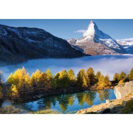 RAVENSBURGER Puzzle Matterhorn a jezero Grindjisee 1000 dílků