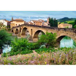 RAVENSBURGER Puzzle  1000 dílků - Město Puente la Reina