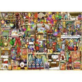 RAVENSBURGER Puzzle Vánoční knihovna 1000 dílků