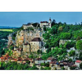 RAVENSBURGER Puzzle  1000 dílků - Vesnice na úbočí hory