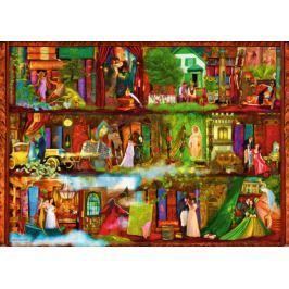 RAVENSBURGER Puzzle  1000 dílků - A. Stewart: Hrdinové a hrdinky