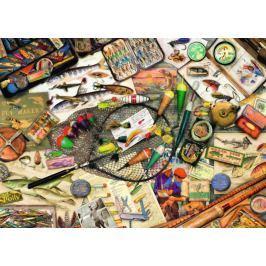 RAVENSBURGER Puzzle Rybářská výbava 1000 dílků