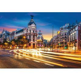 RAVENSBURGER Puzzle  1000 dílků - Gran Vía, Madrid