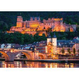 RAVENSBURGER Puzzle  1000 dílků - Večerní Heidelberg, Německo