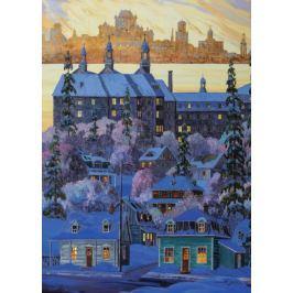 RAVENSBURGER Puzzle Pohled na Quebec z města Lévis 1000 dílků